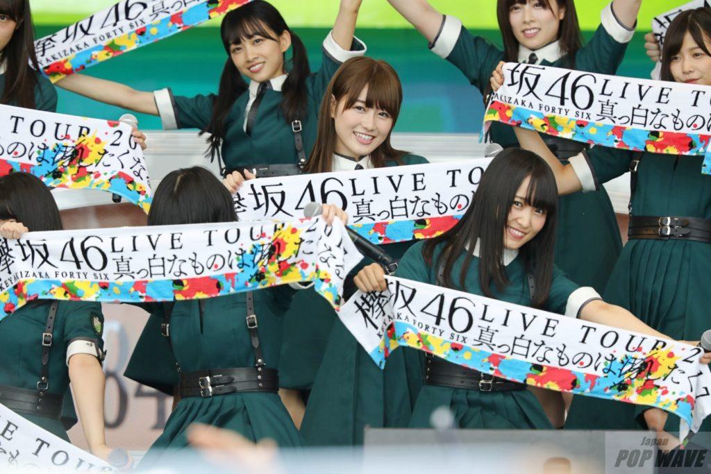 欅坂46、2年連続TIF登場でファン熱狂!
