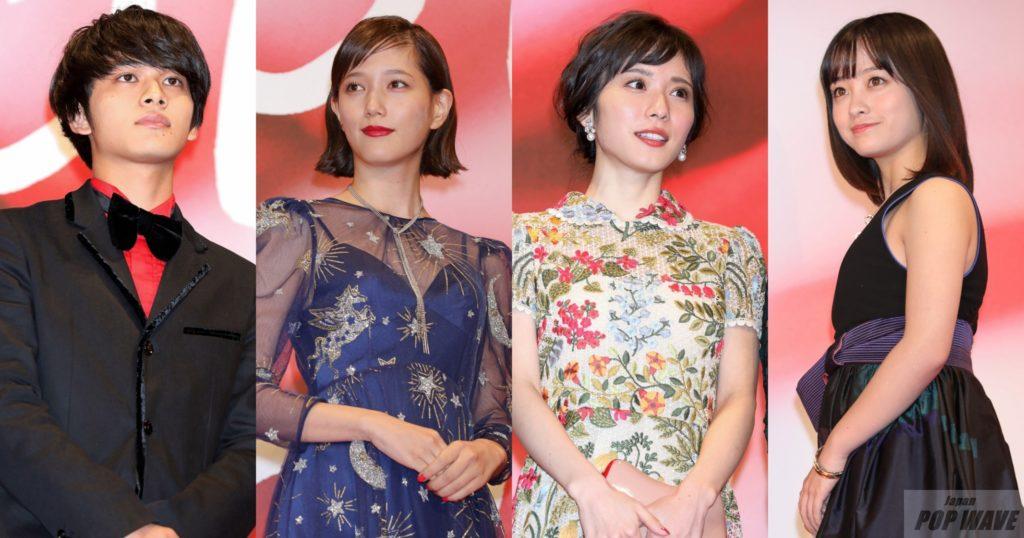 豪華俳優・女優陣が美の競演でオープニングに華をそえる【第30回東京国際映画祭】