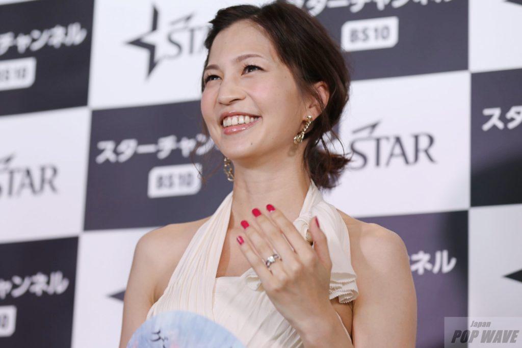安田美沙子、今は夫婦円満で指輪アピール