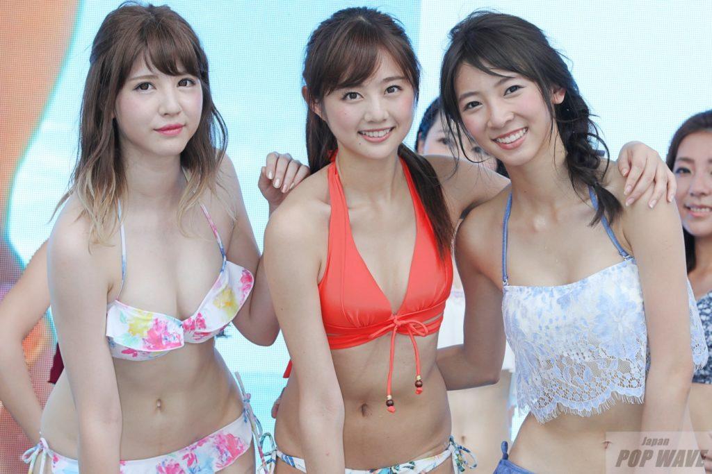 赤坂サカスで水着フラッシュモブ。熊江琉唯「今夏はスイカ割りをしたい」