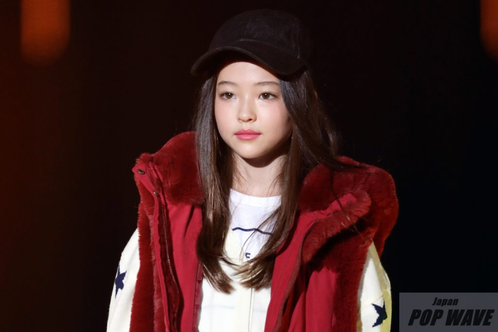 天使を目撃!!美しすぎる9歳「エルラ・グロス」が日本デビュー【TGC2018 A/W】