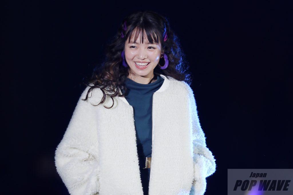 横田真悠が愛嬌たっぷりの笑顔披露【TGC北九州2018】