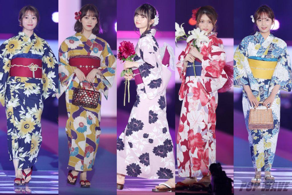 乃木坂メンバー9名がGRLブランドステージを彩る【GirlsAward 2019 S/S】