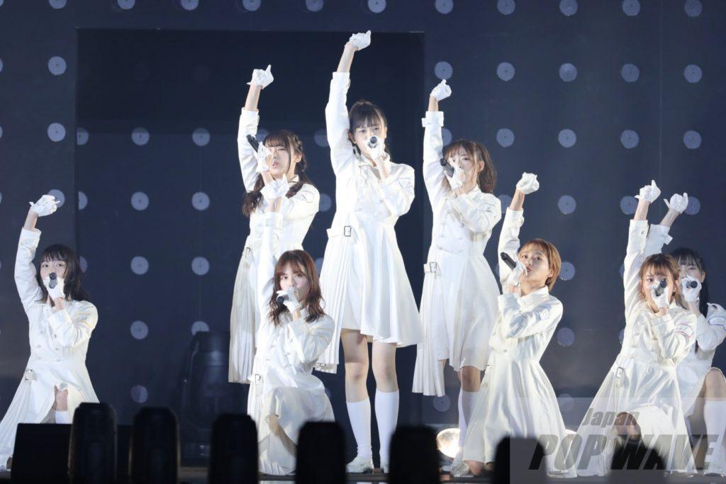 ラストアイドルがTGCの舞台で一糸乱れぬダンスパフォーマンス【TGC 2019 A/W】