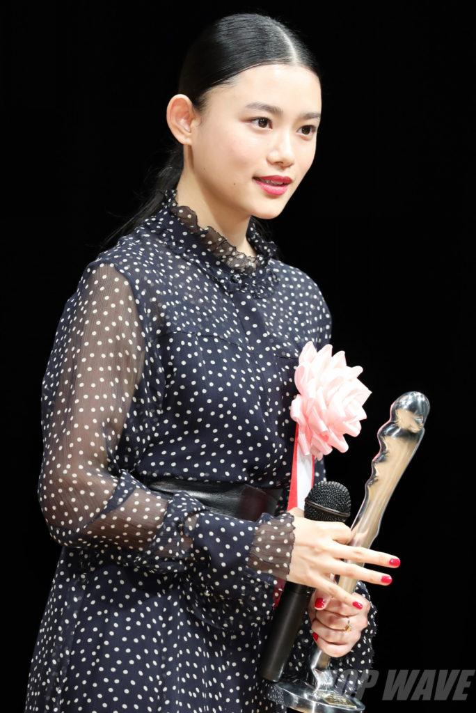 杉咲花が20歳の抱負語る【第38回ヨコハマ映画祭】
