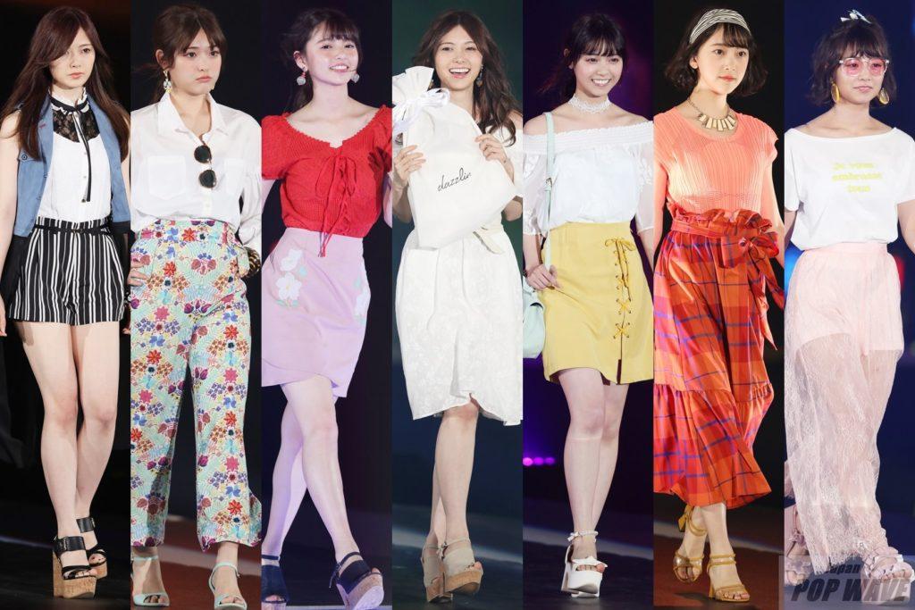 GirlsAward 2017 S/S 乃木坂46が華やかにランウェイウォーク