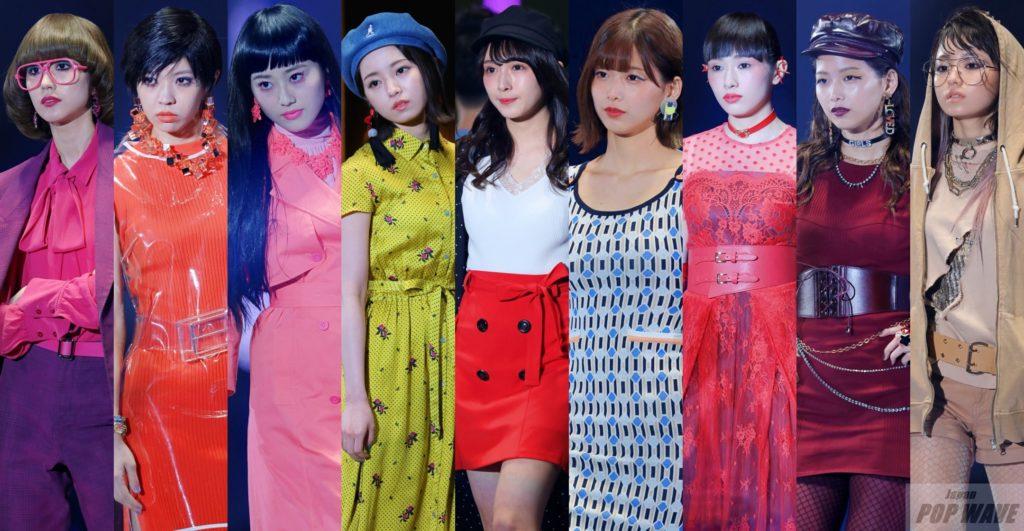 欅坂46メンバーが各々ファッションステージに登場し歓声浴びる【TGC 2018 S/S】