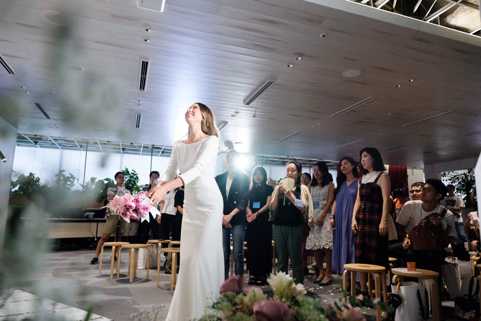 道端アンジェリカが結婚式の思い出を披露