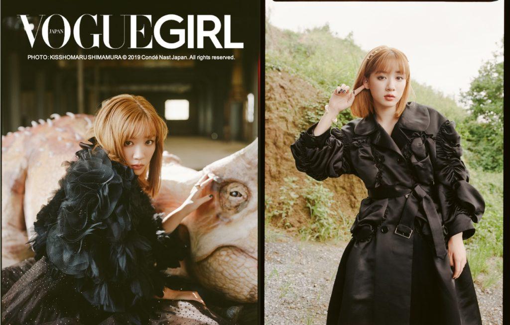 「VOGUE GIRL」の人気企画に永野芽郁が茶髪でギャップ披露